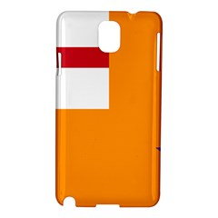 Flag of the Orange Order Samsung Galaxy Note 3 N9005 Hardshell Case