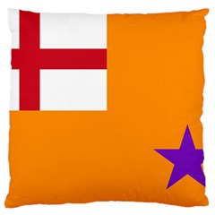 Flag Of The Orange Order Standard Flano Cushion Case (two Sides)