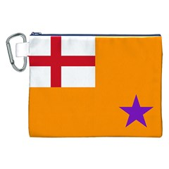 Flag of the Orange Order Canvas Cosmetic Bag (XXL)
