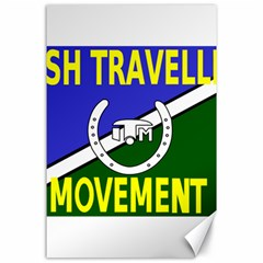 Flag of the Irish Traveller Movement Canvas 24  x 36