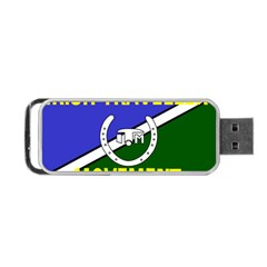 Flag of the Irish Traveller Movement Portable USB Flash (Two Sides)