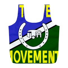 Flag of the Irish Traveller Movement Full Print Recycle Bags (L)