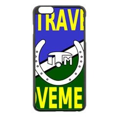 Flag of the Irish Traveller Movement Apple iPhone 6 Plus/6S Plus Black Enamel Case