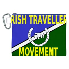 Flag of the Irish Traveller Movement Canvas Cosmetic Bag (XXL)