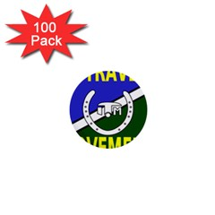 Flag of the Irish Traveller Movement 1  Mini Buttons (100 pack)