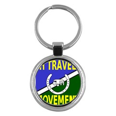 Flag of the Irish Traveller Movement Key Chains (Round)