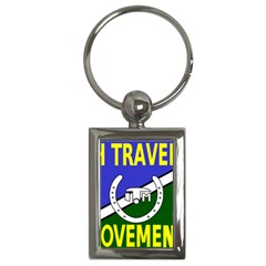 Flag of the Irish Traveller Movement Key Chains (Rectangle)