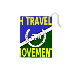Flag of the Irish Traveller Movement Drawstring Pouches (Small)