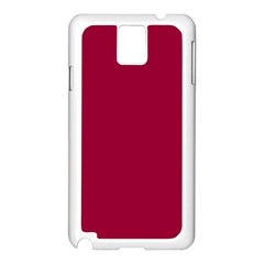 Flag of the Apprentice Boys of Derry Samsung Galaxy Note 3 N9005 Case (White)
