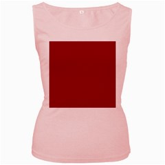 Flag of the Apprentice Boys of Derry Women s Pink Tank Top