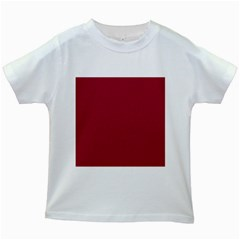 Flag of the Apprentice Boys of Derry Kids White T-Shirts