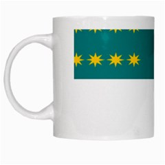 Flag of Fenian Brotherhood White Mugs