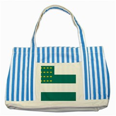Flag of Fenian Brotherhood Striped Blue Tote Bag