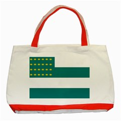 Flag of Fenian Brotherhood Classic Tote Bag (Red)