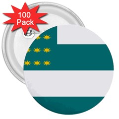 Flag of Fenian Brotherhood 3  Buttons (100 pack)