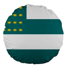 Flag of Fenian Brotherhood Large 18  Premium Flano Round Cushions