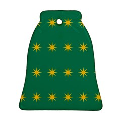 32 Stars Fenian Flag Bell Ornament (Two Sides)