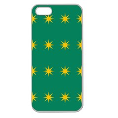 32 Stars Fenian Flag Apple Seamless iPhone 5 Case (Clear)