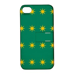 32 Stars Fenian Flag Apple iPhone 4/4S Hardshell Case with Stand