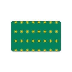 32 Stars Fenian Flag Magnet (Name Card)
