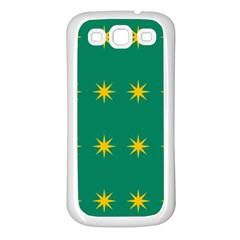 32 Stars Fenian Flag Samsung Galaxy S3 Back Case (White)