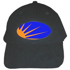 Sunburst Flag Black Cap