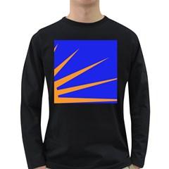 Sunburst Flag Long Sleeve Dark T-Shirts