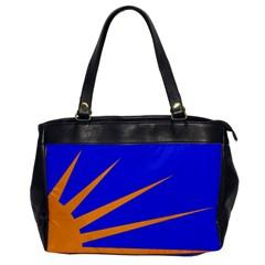 Sunburst Flag Office Handbags