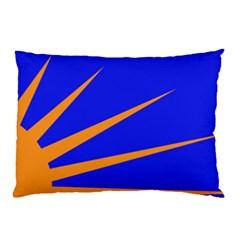 Sunburst Flag Pillow Case (Two Sides)
