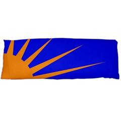 Sunburst Flag Body Pillow Case (Dakimakura)