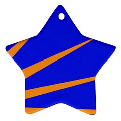 Sunburst Flag Ornament (Star)