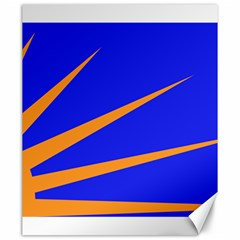 Sunburst Flag Canvas 20  x 24