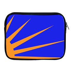 Sunburst Flag Apple iPad 2/3/4 Zipper Cases
