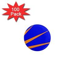 Sunburst Flag 1  Mini Magnets (100 pack)