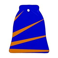 Sunburst Flag Bell Ornament (Two Sides)