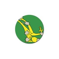 Starry Plough Flag  Golf Ball Marker
