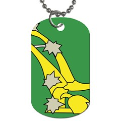 Starry Plough Flag  Dog Tag (Two Sides)