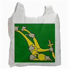 Starry Plough Flag  Recycle Bag (One Side)