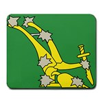 Starry Plough Flag  Large Mousepads Front