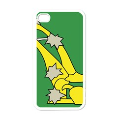 Starry Plough Flag  Apple iPhone 4 Case (White)