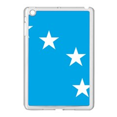 Starry Plough Flag Apple iPad Mini Case (White)