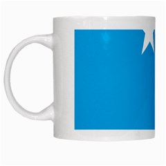 Starry Plough Flag White Mugs