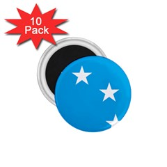 Starry Plough Flag 1.75  Magnets (10 pack)