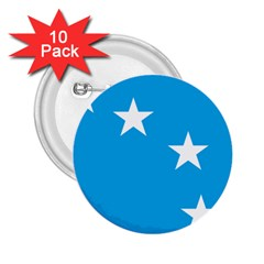 Starry Plough Flag 2.25  Buttons (10 pack)