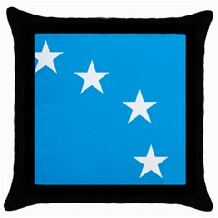 Starry Plough Flag Throw Pillow Case (Black)