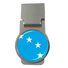 Starry Plough Flag Money Clips (Round)