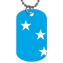 Starry Plough Flag Dog Tag (one Side)