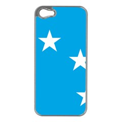 Starry Plough Flag Apple iPhone 5 Case (Silver)