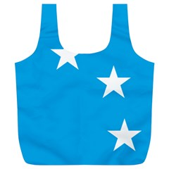 Starry Plough Flag Full Print Recycle Bags (L)
