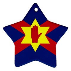 Flag of the Ulster Nation Ornament (Star)